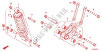REAR CUSHION (2) Frame 700 honda-motorcycle NC 2015 F_27