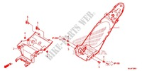 REAR FENDER Frame 700 honda-motorcycle NC 2015 F_28