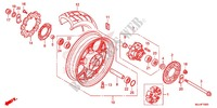 REAR WHEEL Frame 700 honda-motorcycle NC 2015 F_15