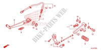 STEP/KICK ARM/ CHANGE PEDAL Frame 700 honda-motorcycle NC 2015 F_23