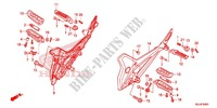 STEP/KICK ARM/ CHANGE PEDAL Frame 700 honda-motorcycle NC 2015 F_24