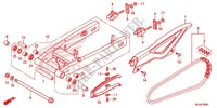 SWINGARM/CHAIN CASE Frame 700 honda-motorcycle NC 2015 F_26