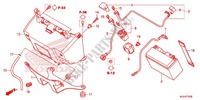 TOOLS/BATTERY BOX Frame 700 honda-motorcycle NC 2015 F_31
