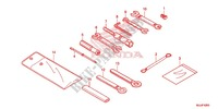 TOOLS/BATTERY BOX Frame 700 honda-motorcycle NC 2015 F_42