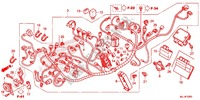 WIRE HARNESS/BATTERY Frame 700 honda-motorcycle NC 2015 F_32