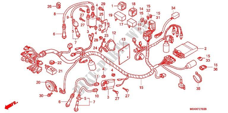 WIRE HARNESS BATTERY Frame NV400C6 2006 SHADOW 400 MOTO Honda ... on honda manual, honda fuel filter, honda seat, honda rear fender, honda shift lever, honda air cleaner assembly, stereo harness, honda frame, honda cdi unit, honda hdmi cable, honda ignition switch, honda rear cowl, honda oil dip stick, honda rocker switch, honda cdi box, honda throttle cable, honda intermediate shaft, honda stop switch, honda water pipe, honda bottom end,