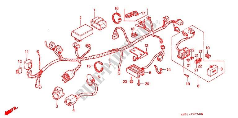 Honda Ax 1 Wiring Diagram   Wiring Diagram on