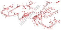 PAIR CONTROL VALVE Engine 1100 honda-motorcycle ST 1997 E_20