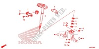 --- ARBRE DE DIRECTION (TRX500FA) Frame 500 honda-motorcycle FOURTRAX 2013 F_06