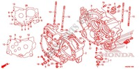 CRANKCASE/OIL PUMP Engine 500 honda-motorcycle FOURTRAX 2013 E_14
