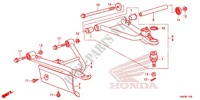 FRONT ARM Frame 500 honda-motorcycle FOURTRAX 2013 F_11