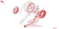 LEFT CRANKCASE COVER/ GENERATOR (2) Engine 500 honda-motorcycle FOURTRAX 2013 E_11