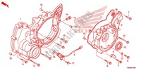 REAR CRANKCASE COVER Engine 500 honda-motorcycle FOURTRAX 2013 E_10