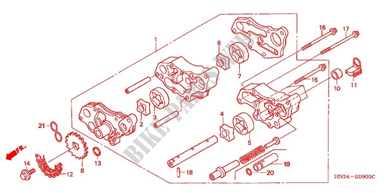34 2005 Honda Foreman 500 Parts Diagram