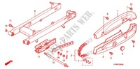 SWING ARM (1) for Honda WAVE 125, Kick start, Spoked wheels 2011