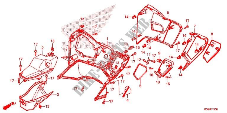Honda OEM Part 81142-K01-901
