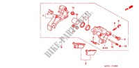 REAR BRAKE CALIPER Frame 400 honda-motorcycle XR 2007 F_12