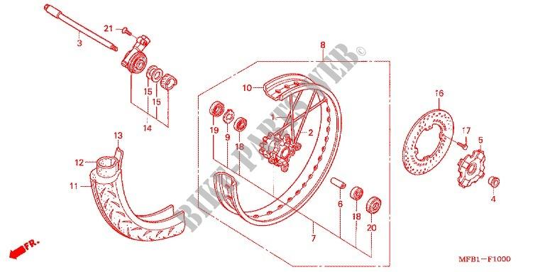 FRONT WHEEL for Honda XR 400 MOTARD 2008 # HONDA Motorcycles ... on sincgars radio configurations diagrams, switch diagrams, transformer diagrams, series and parallel circuits diagrams, led circuit diagrams, engine diagrams, honda motorcycle repair diagrams, smart car diagrams, internet of things diagrams, electrical diagrams, lighting diagrams, gmc fuse box diagrams, battery diagrams, troubleshooting diagrams, electronic circuit diagrams, pinout diagrams, hvac diagrams, friendship bracelet diagrams, motor diagrams,