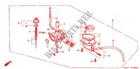 CARBURETOR O.P. KIT for Honda XR 50 2001
