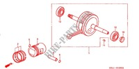 CRANKSHAFT for Honda XR 50 2001
