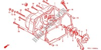 RIGHT CRANKCASE COVER for Honda XR 50 2001