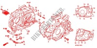 CRANKCASE/OIL PUMP Engine 650 honda-motorcycle XR 2004 E_13