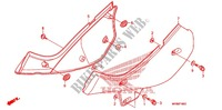 SIDE COVER/TANK COVER Frame 650 honda-motorcycle XR 2013 F_16
