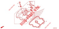 CYLINDER HEAD COVER for Honda CRF 250 M RED 2015