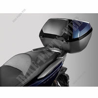 Smart Top box Kit 45 liters Forza 2019 (blue,PB412)-Honda